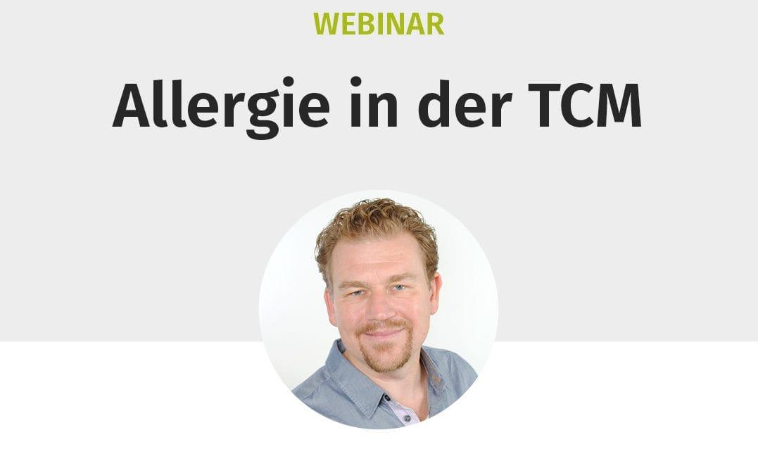 """Webinar """"Allergie in der TCM"""""""