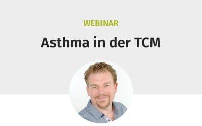 """Webinar """"Asthma in der TCM"""""""