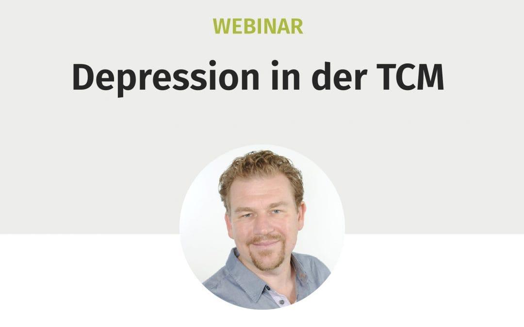"""Webinar """"Depression in der TCM"""""""