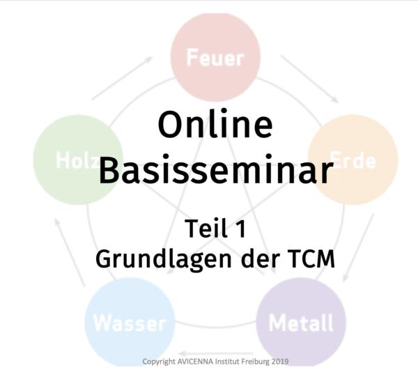 Grundlagen der TCM - Online-Basisseminar
