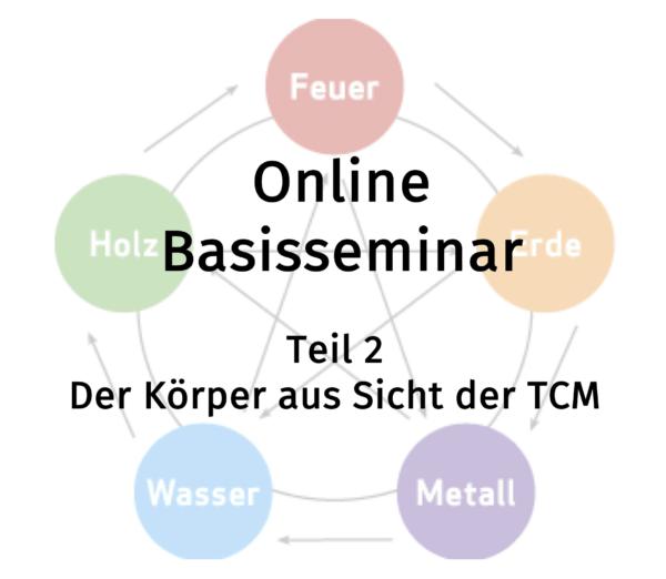 Der Körper aus Sicht der TCM (Online-Basisseminar)