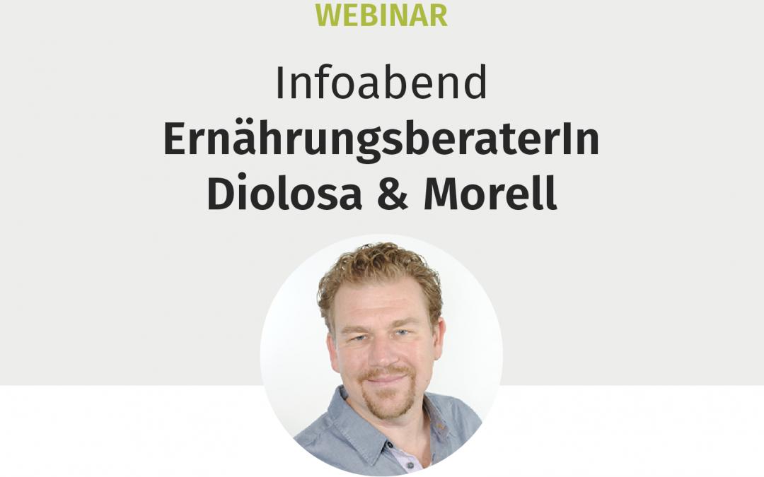 """Webinar """"Infoabend ErnährungsberaterIn Diolosa & Morell"""""""